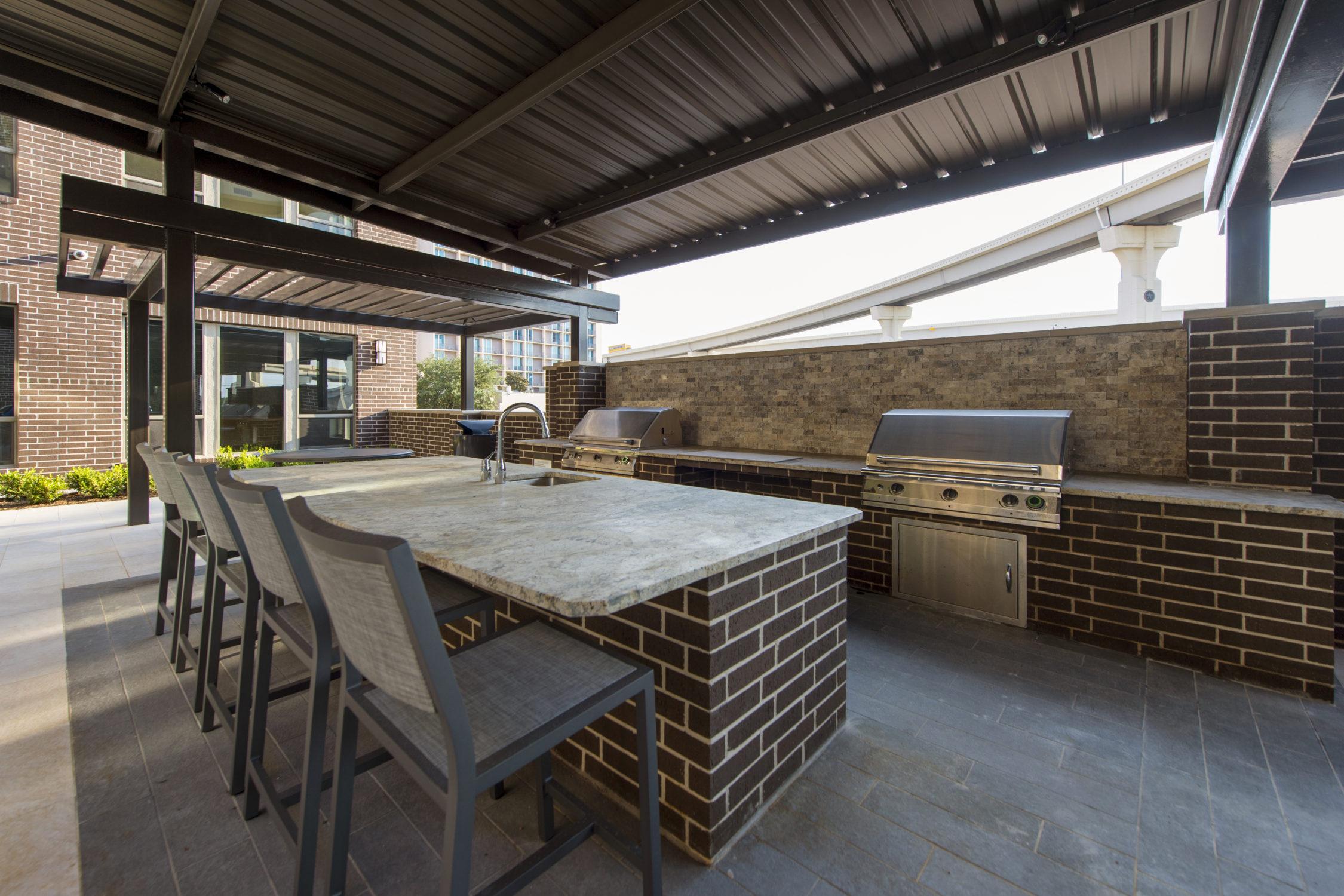 BBQ Area - Alexan CityCentre