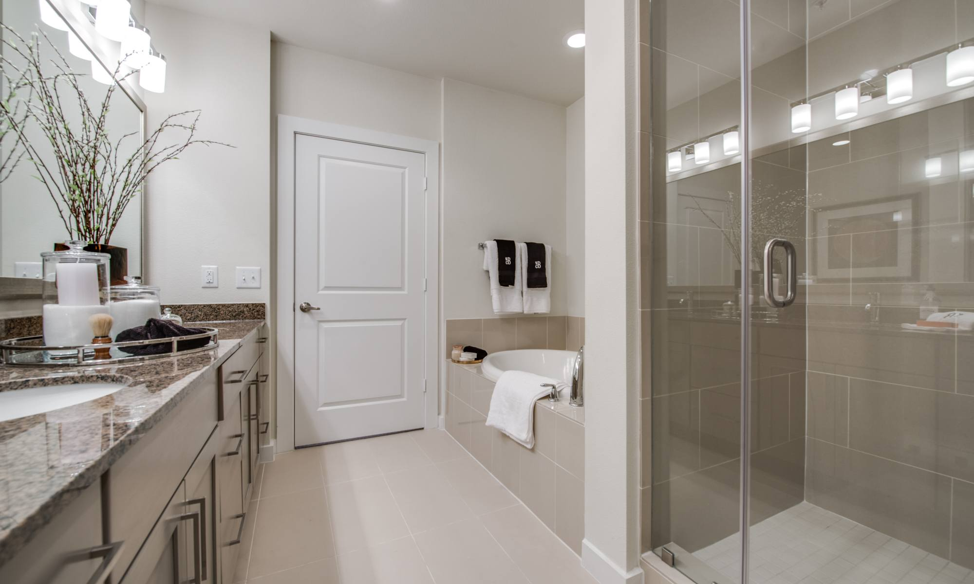 Bathroom - 500 Crawford Apartments