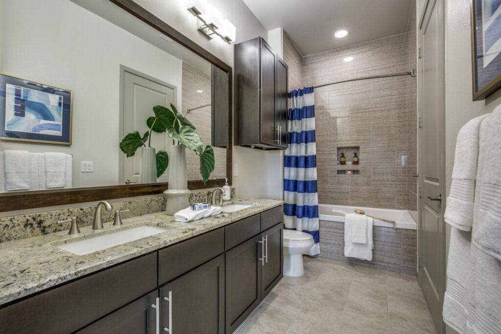 Bathroom - Alexan Southside Place