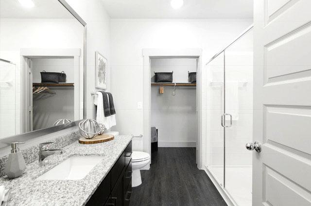 Bathroom - Everly Apartments