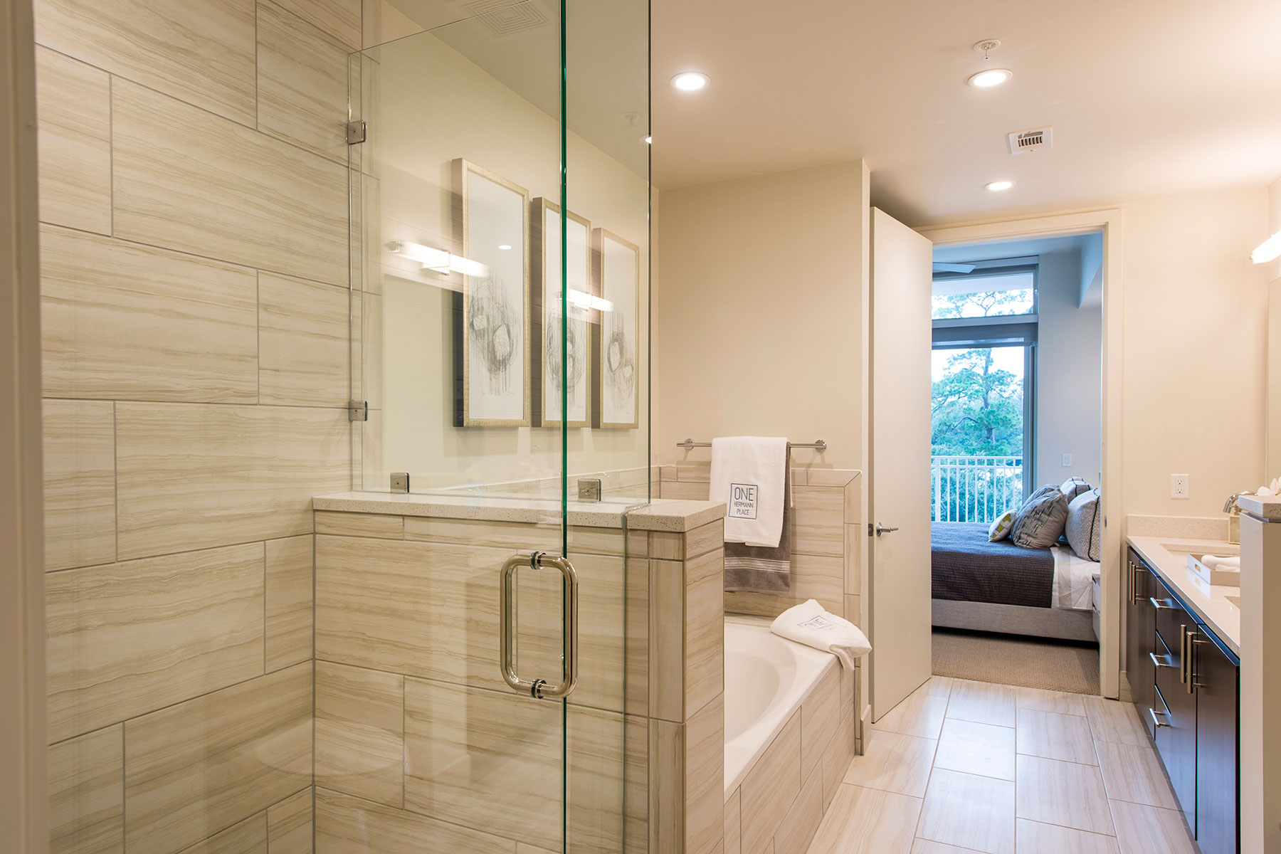 Bathroom - One Hermann Place