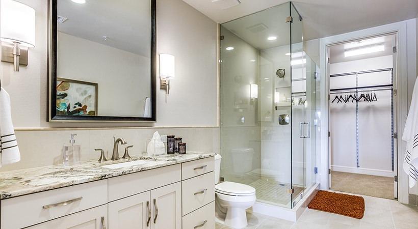 Bathroom - The Ivy Park Place Apartments
