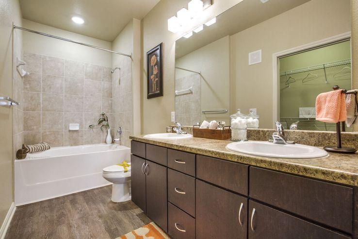 Bathroom - The MILO on Westheimer