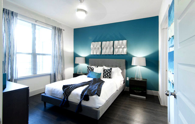 Bedroom - Everly Apartments