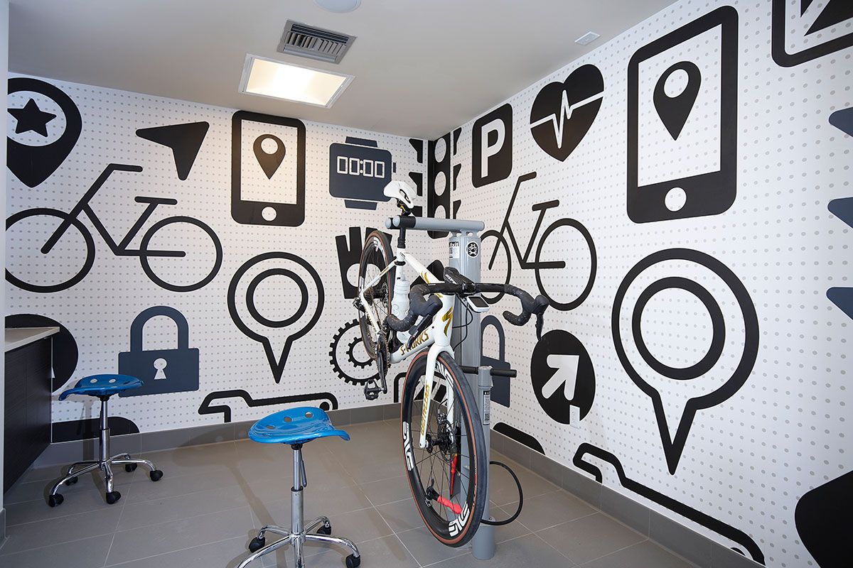 Bike Repair Room - Aris Market Square
