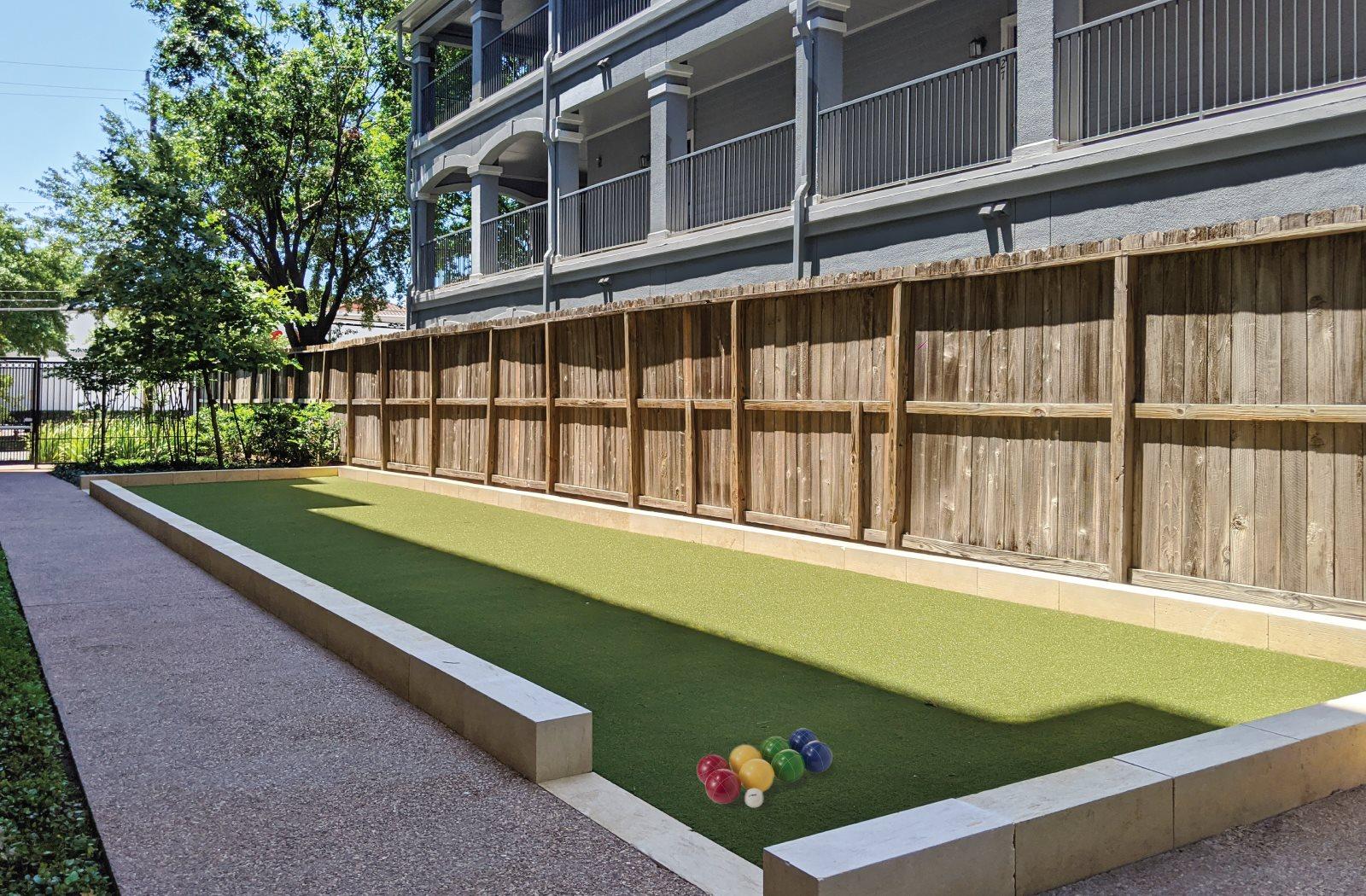 Bocce Ball - Le Palais Apartments