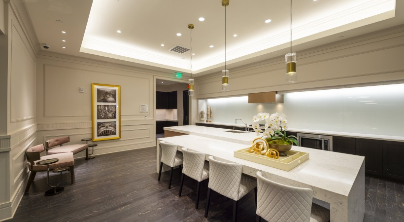 Catering Kitchen - The Ivy Park Place Apartments