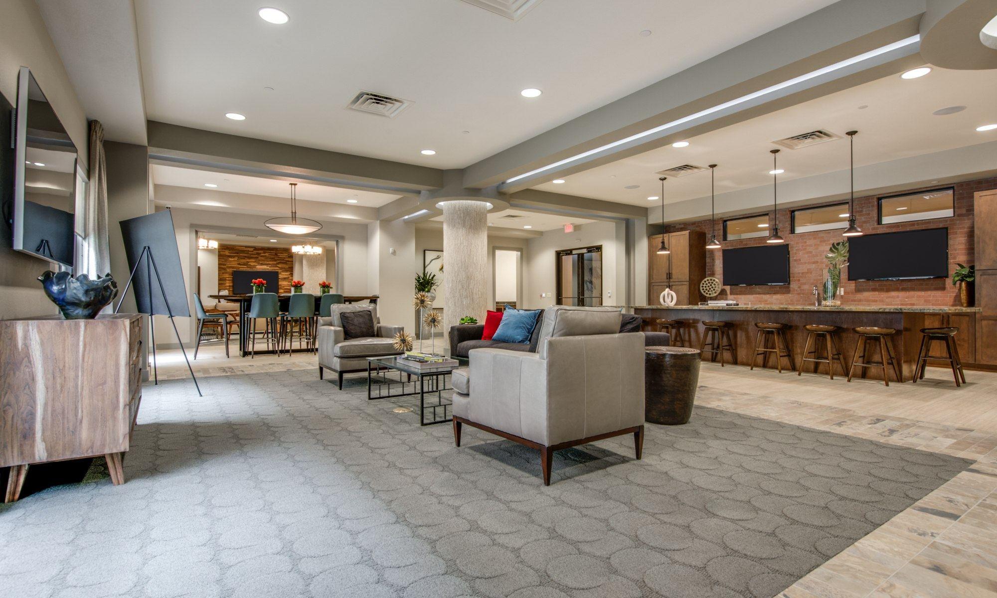 Club Room - 500 Crawford Apartments