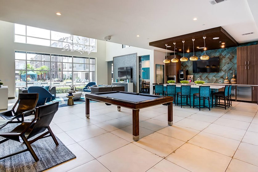 Club Room - Everly Apartments