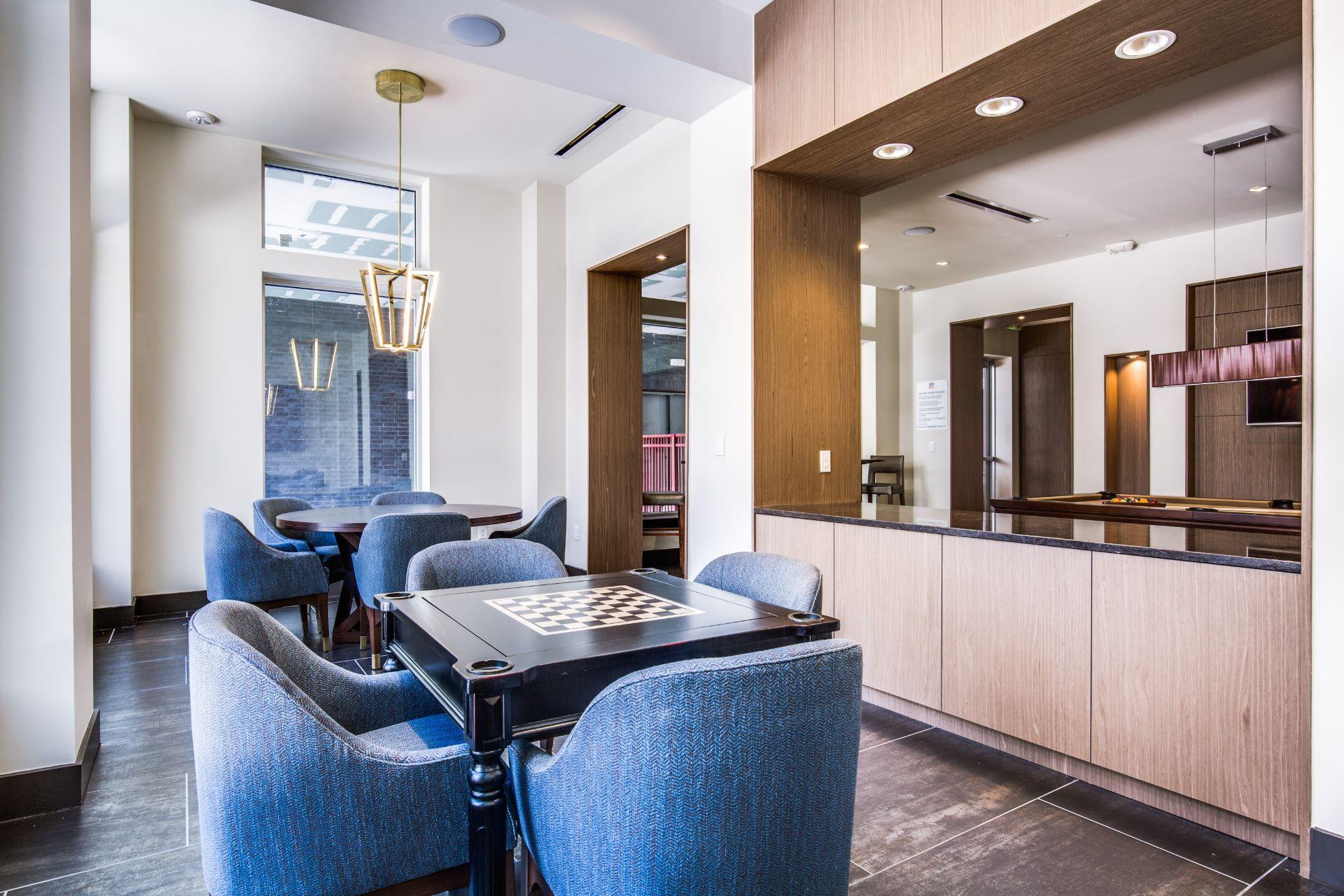 Club Room - Folio West Apartments