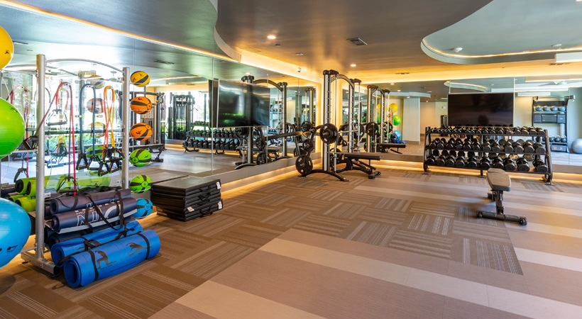Fitness Center - 1414 Texas Downtown Apartments