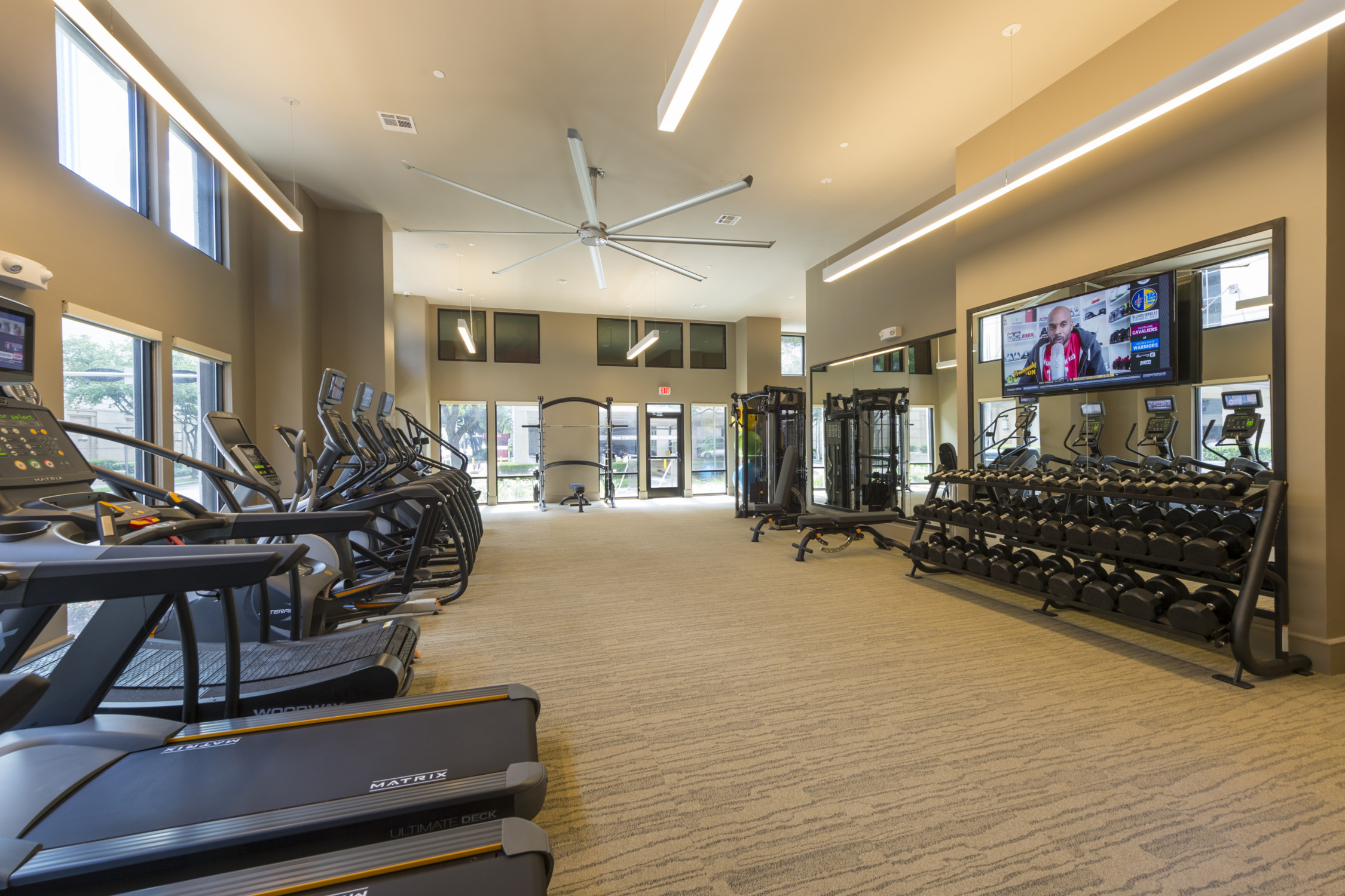 Fitness Center - Alexan 5151 Apartments