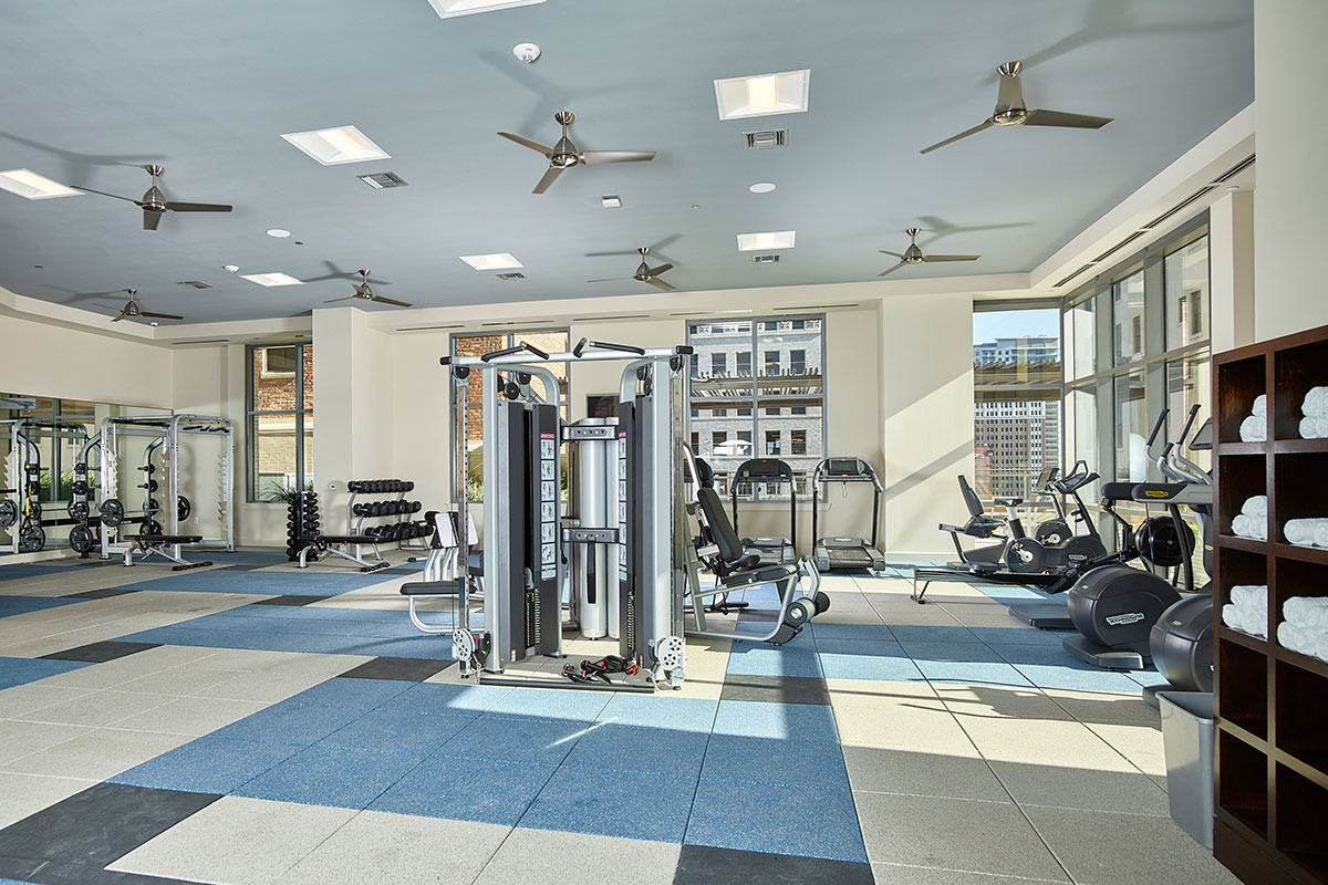 Fitness Center - Aris Market Square