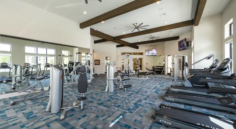 Fitness Center - Asher Oaks