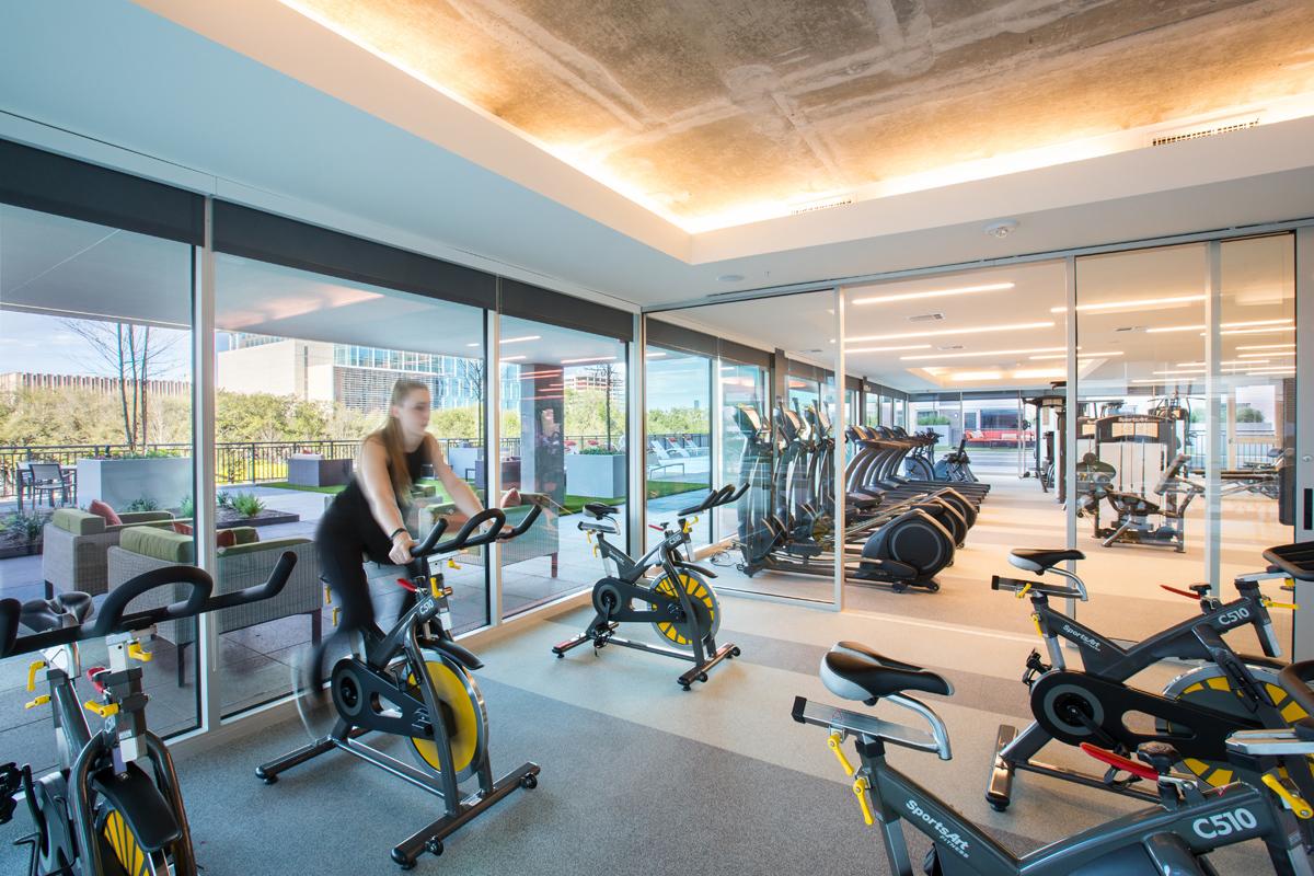 Fitness Center - Avenue Grove Apartments