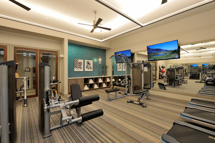 Fitness Center - Broadstone Woodmill Creek
