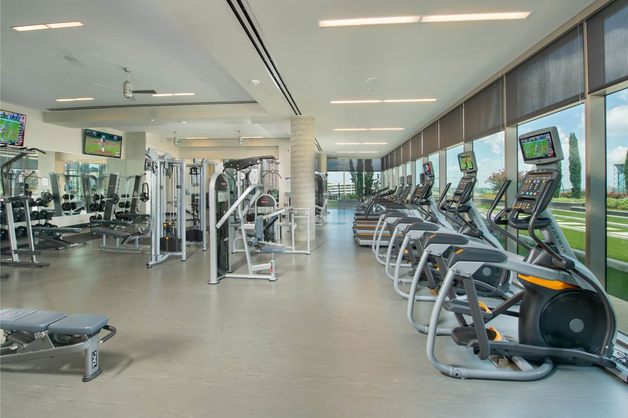 Fitness Center - Catalyst Apartments