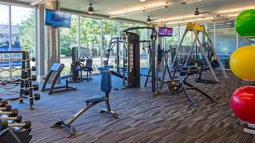 Fitness Center - Elan Memorial Park