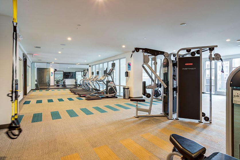 Fitness Center - Everly Apartments