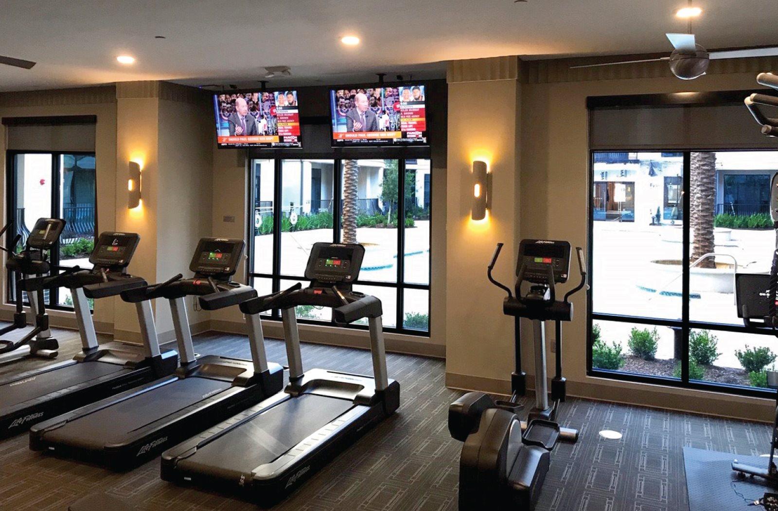 Fitness Center - Le Palais Apartments