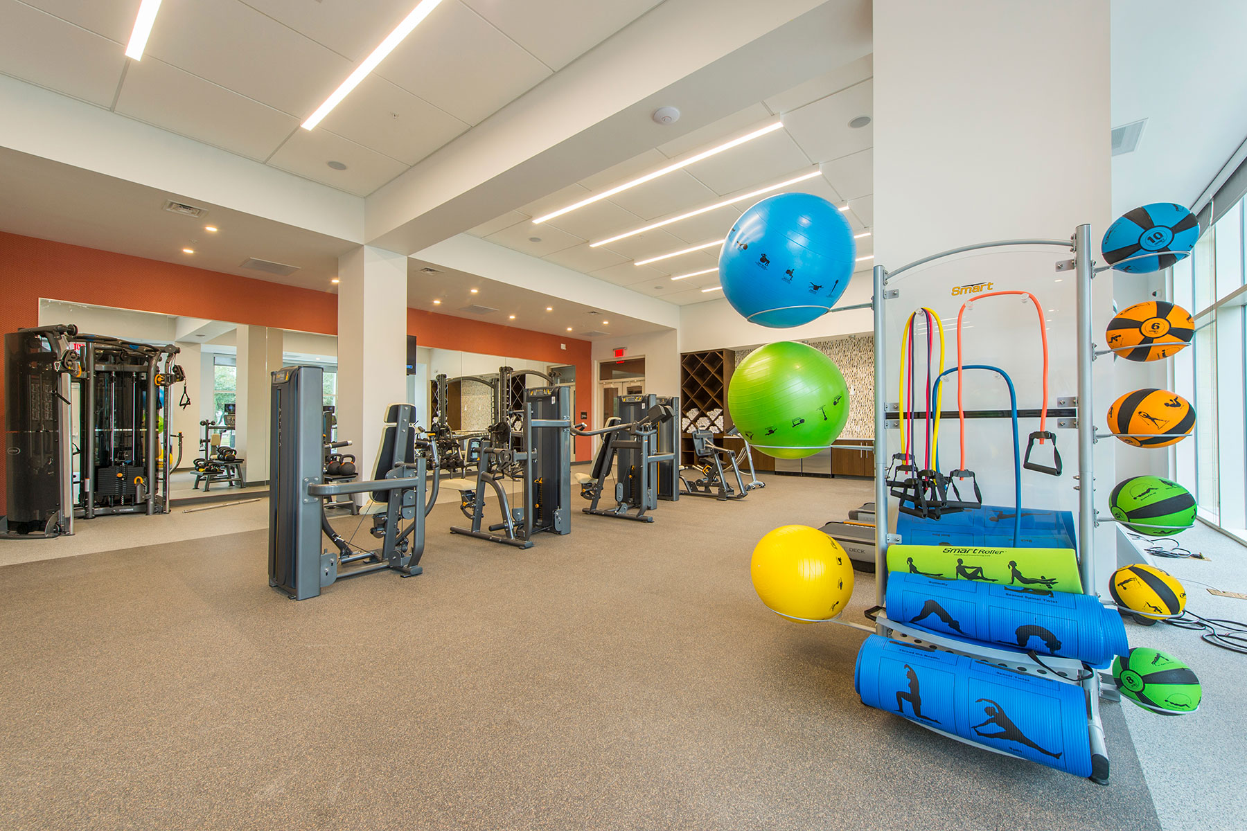 Fitness Center - One Hermann Place