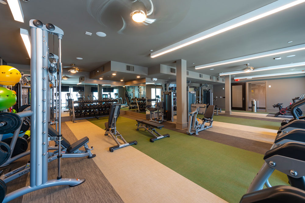 Fitness Center - Pearl Marketplace At Midtown