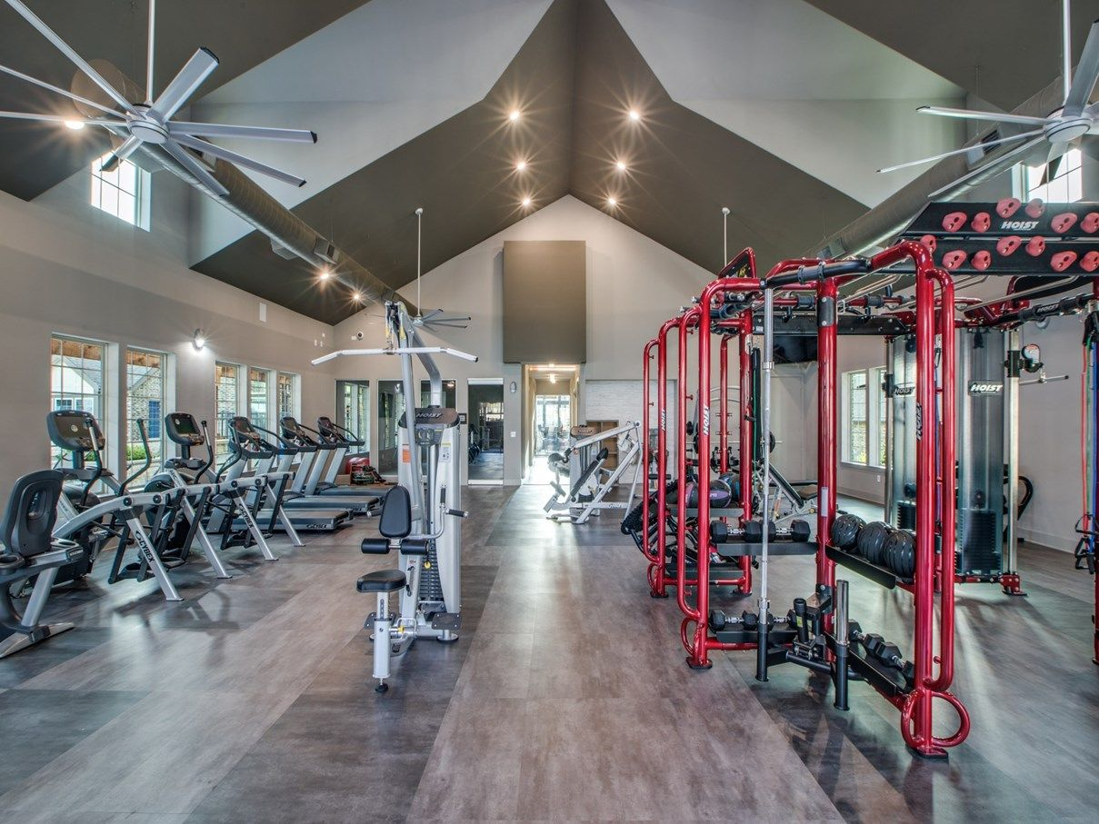 Fitness Center - Sanctuary at Jacobs Reserve Apartments