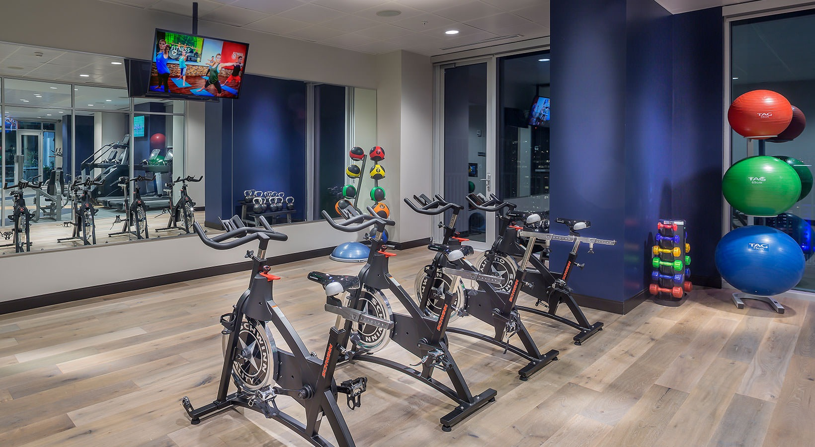 Fitness Center - SkyHouse Downtown South Tower