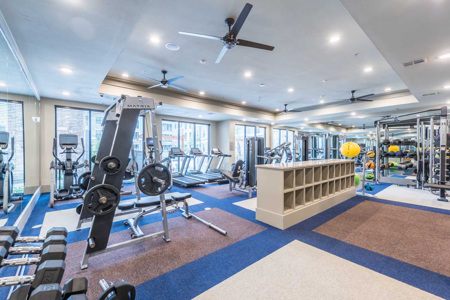 Fitness Center - The Beacon at Buffalo Pointe