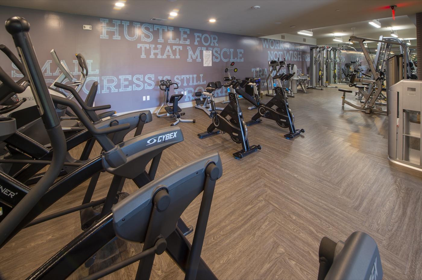 Fitness Center - The Hayworth