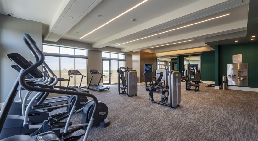 Fitness Center - The Ivy Park Place Apartments