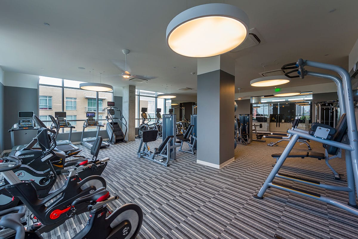 Fitness Center - The Southmore