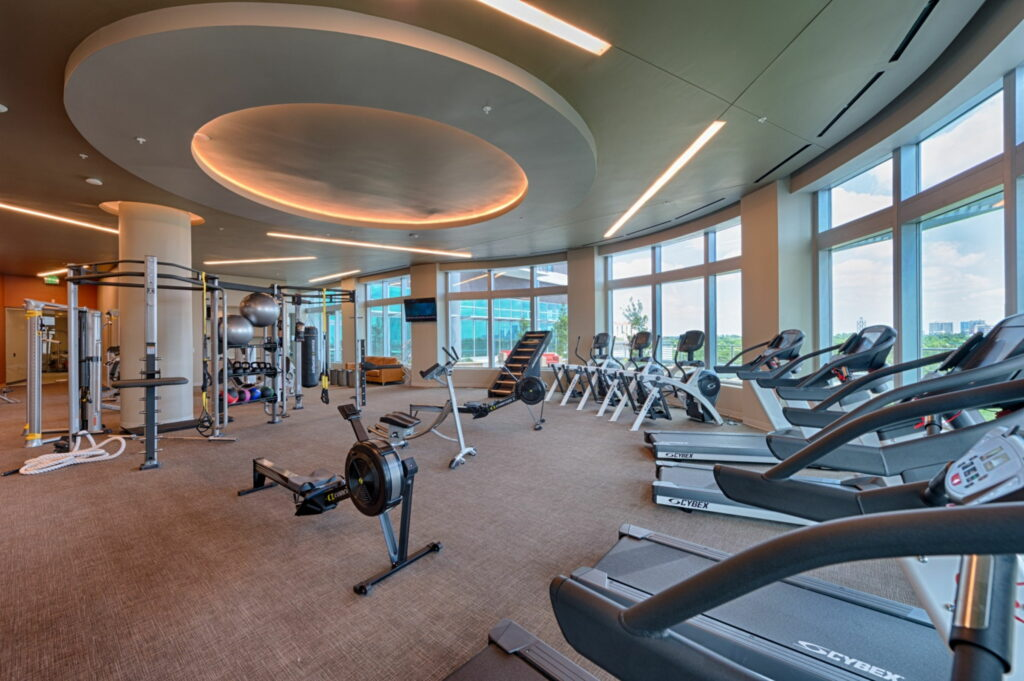 Fitness Center - Vantage Med Center Apartments