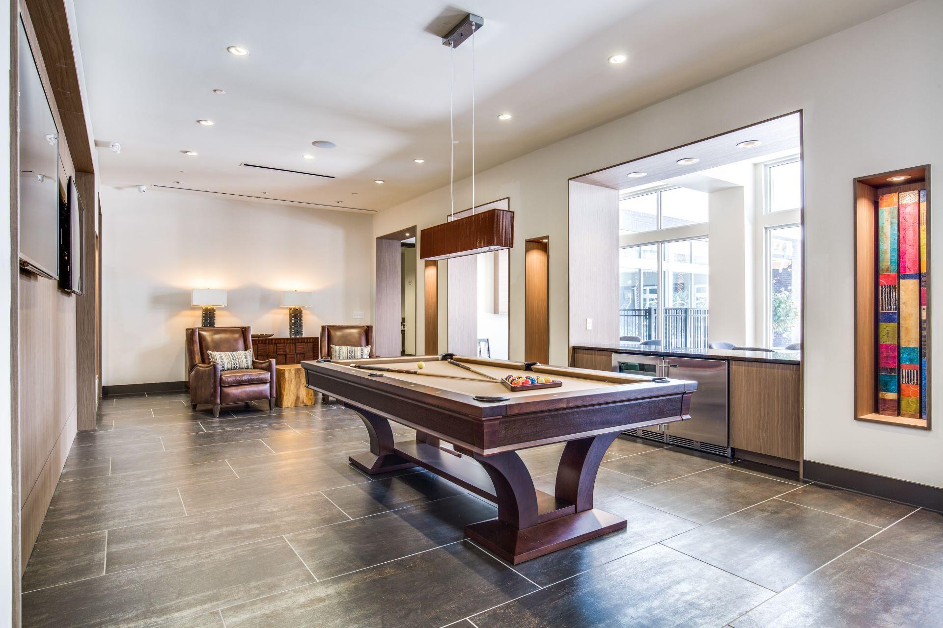 Game Room - Folio West Apartments