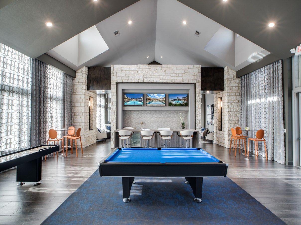 Gameroom - Sanctuary at Jacobs Reserve Apartments