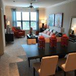 Living Room - Three Thousand Sage Apartments