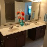 Double Bathroom Vanity - Three Thousand Sage Apartments