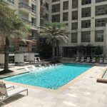 Pool Area - WaterWall Place