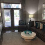 Living Room - Pearl Washington Apartments