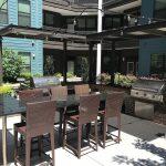 BBQ Area - Pearl Washington Apartments