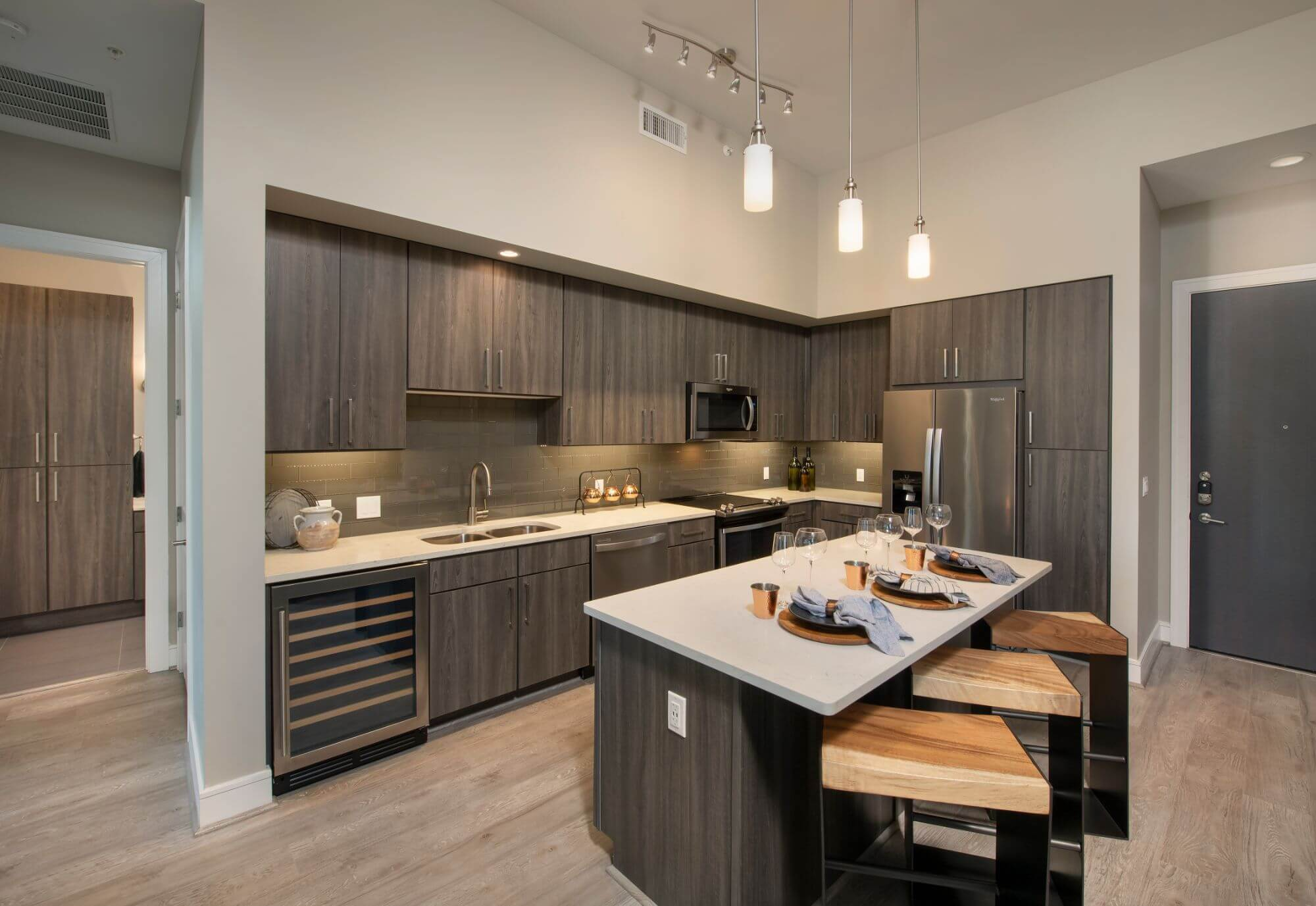 Kitchen - Catalyst Apartments