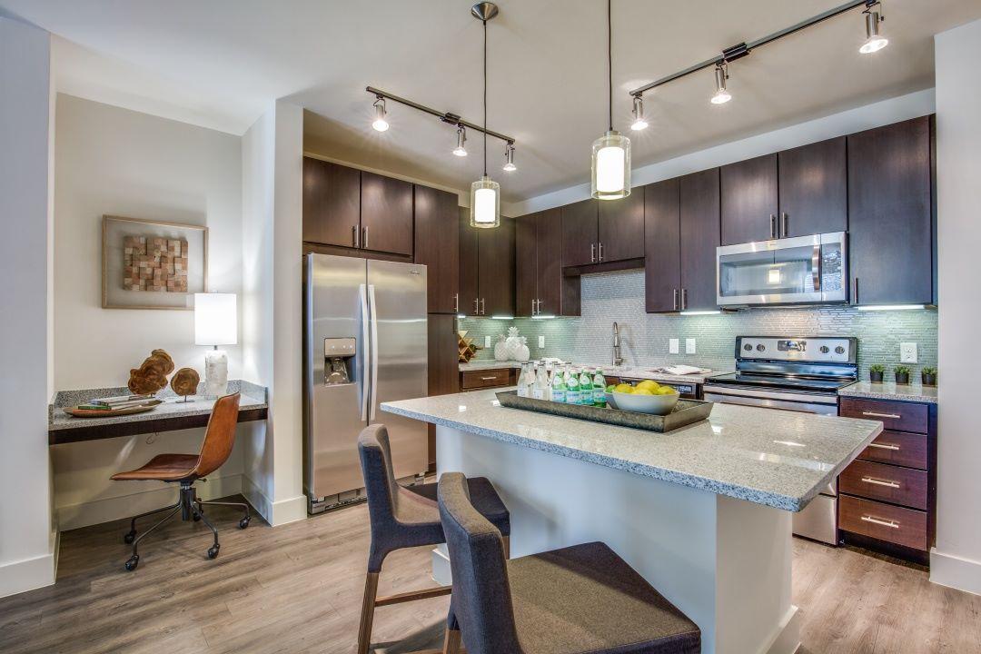 Kitchen - Folio West Apartments