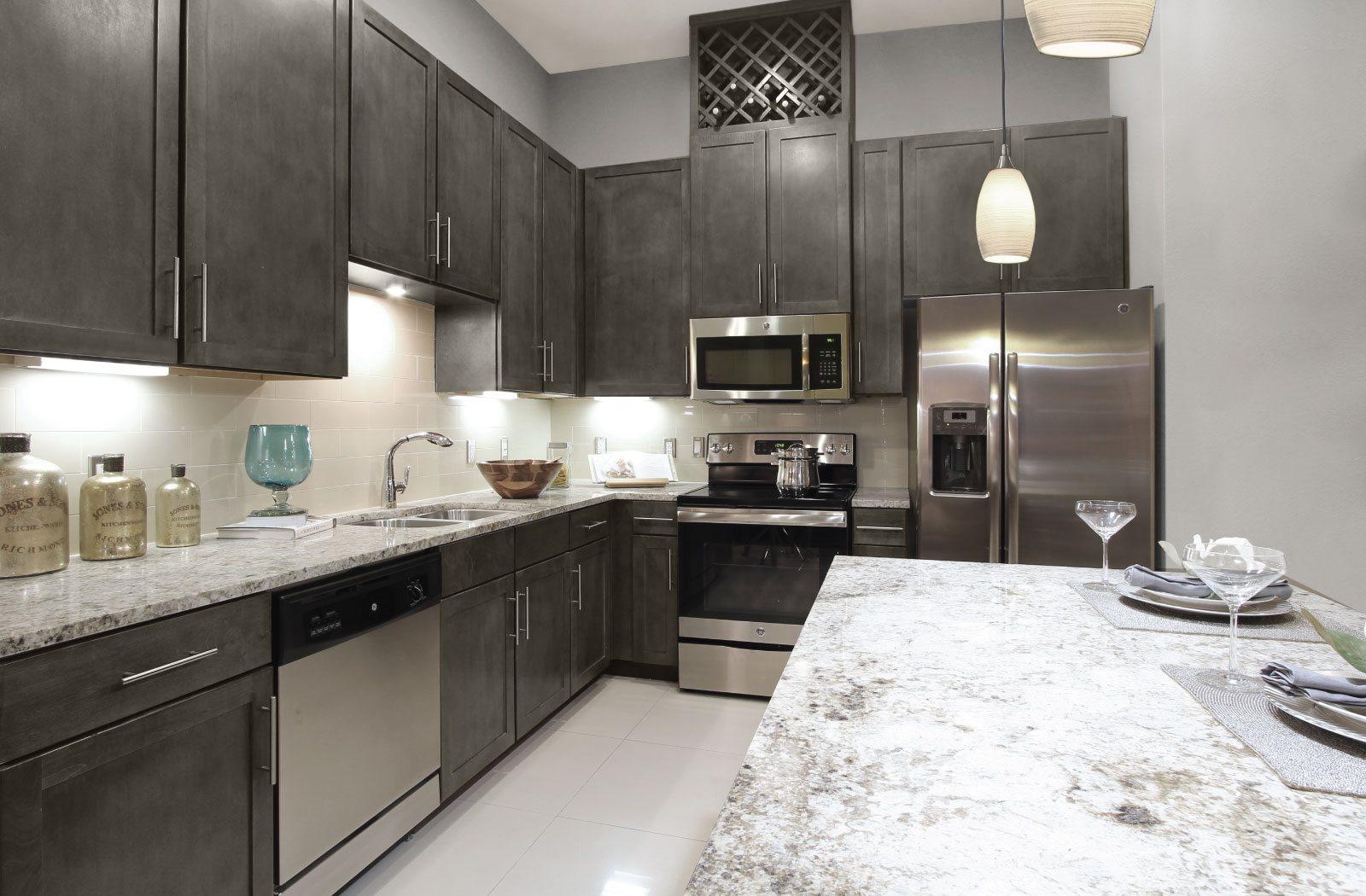 Kitchen - Le Palais Apartments
