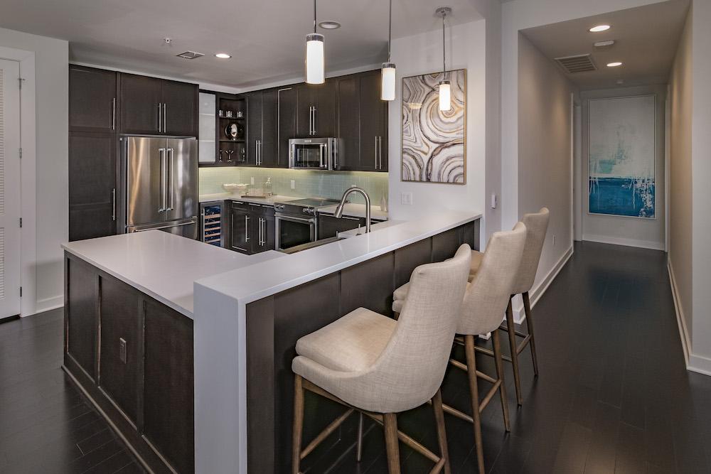 Kitchen - The Star Apartments
