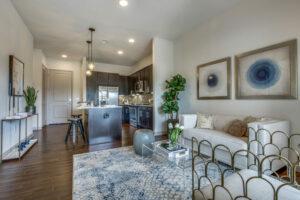 Living Room - Alexan Southside Place