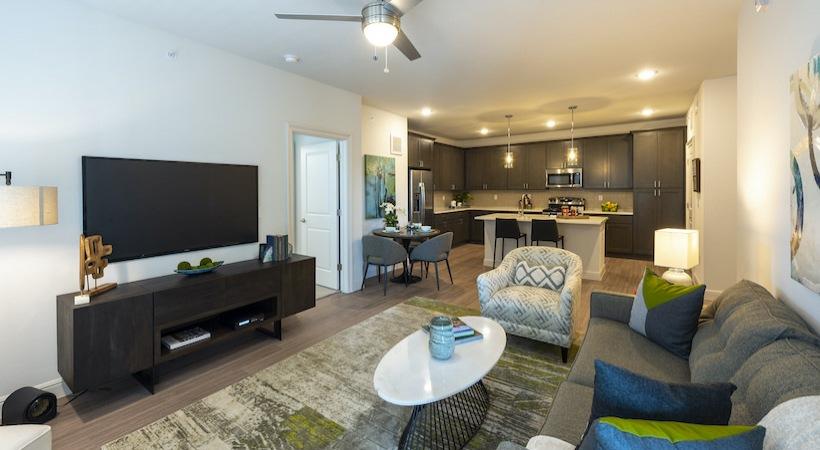 Living Room - Asher Oaks