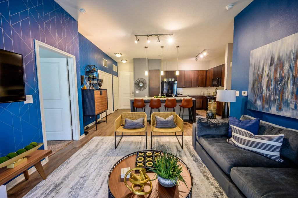Living Room - Aspire at 610