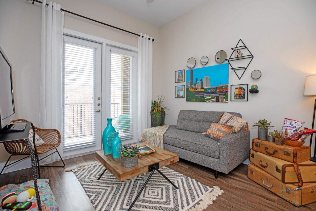 Living Room - Hardy Yards
