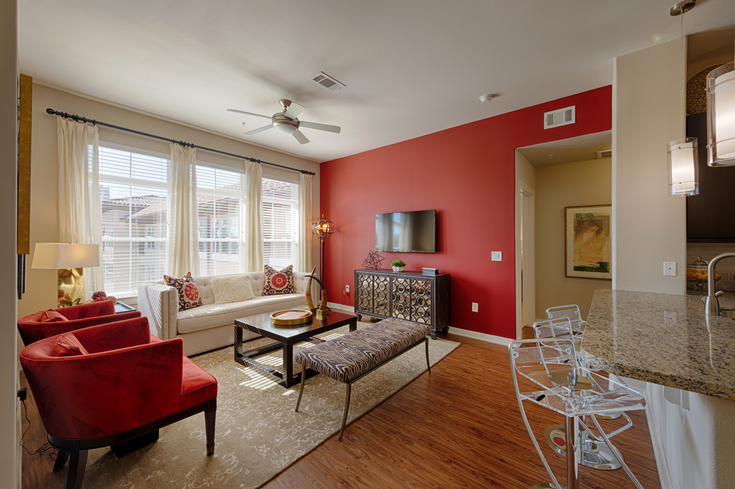 Living Room - High Point Uptown