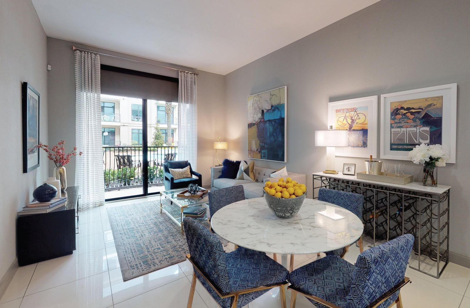 Living Room - Le Palais Apartments